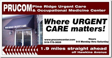 Billboard for Urgent Care Center in North Carolina