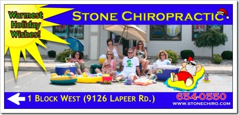 Billboard for chiropractic center