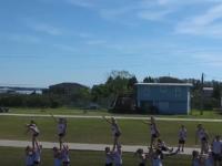 Cheerleader Camp, Sports Team Drone Videography Gulf Shores, Alabama