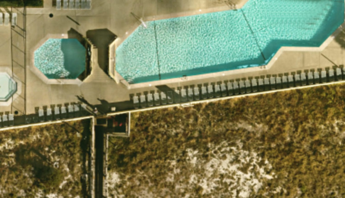 Aerial View of Condominium, Orange Beach, Alabama