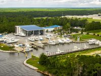Commercial Property Drone Photo Gulf Shores