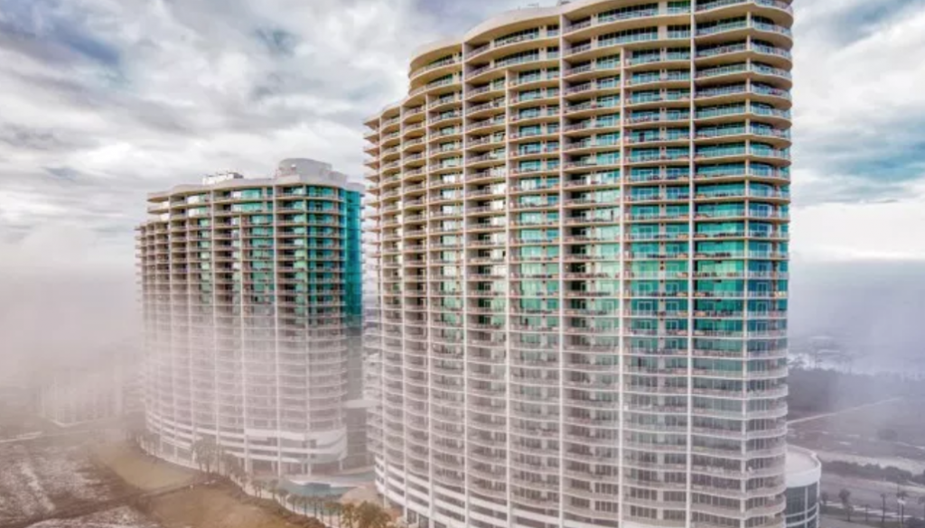 Orange Beach, Condominium Architectural Photography, Turquoise Place